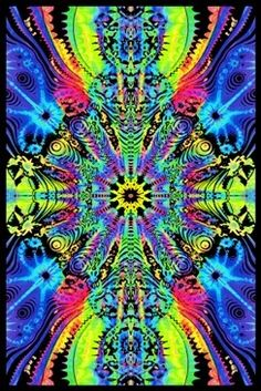 23 x psychedelic black light poster. Down the wormhole optical illusion black light poster. Psychedelic Art, Psychedelic Effects, Poster On, Poster Prints, Art Prints, Art Posters, Fantasy Posters, Hippie Posters, Black Light Posters