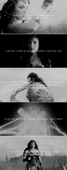Only love will truly save the world. #wonderwoman