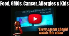 You MUST watch this! GMOs and organic food is not a crock! Severe food allergies and cancer is a real problem. She is clear and concise at explaining everything.