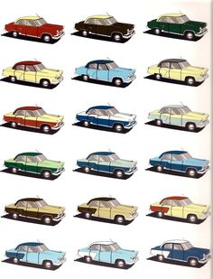 Auto Russe  ~~              Газ-21 color