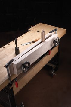 Toot Test: Benchcrafted Double Screw Moxon Vise