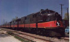 "Illinois Central Railroad EMD # Springfield, Illinois, April Last Run, ""Governor's Special"" Electric Locomotive, Diesel Locomotive, Ho Trains, Model Trains, Train Posters, Railroad Pictures, Pennsylvania Railroad, Covered Wagon, Train Pictures"