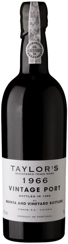 Vinho do Porto Vintage 1966 - Taylor's