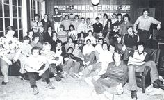 Sigma Nu fraternity at the UO 1975-76. From the 1976 Oregana (University of Oregon yearbook). www.CampusAttic.com
