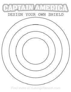 captain america coloring pages - Captain America Pictures To Color