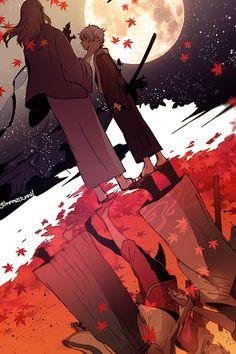 Gintama. Gintoki Sakata. Yoshida Shouyou.