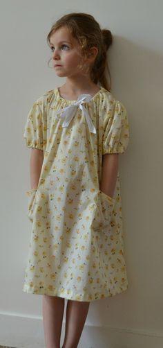 ★ robe jane en Liberty ★ © 2012 mises en scène