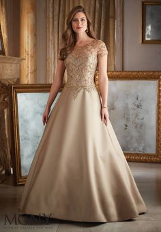 MagBridal Bridal Dresses Online,Wedding Dresses Ball Gown, junoesque tulle satin bateau neckline a line mother of the bride dress with beaded embroidery Evening Dresses With Sleeves, Ball Dresses, Evening Gowns, Ball Gowns, Prom Dresses, Bride Dresses, Dresses 2016, Dressy Dresses, Evening Party