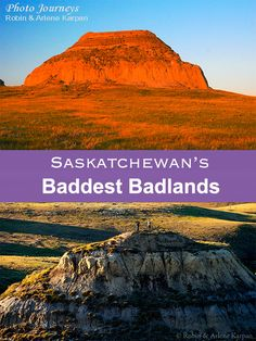 Saskatchewan is a hotbed for badlands. Here we take you to three easily accessible places in southern Saskatchewan to experience badlands. Camping Places, Places To Travel, Oh The Places You'll Go, Places To Visit, Canadian Travel, Us Destinations, Western Canada, Visit Canada, Newfoundland And Labrador