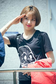 TWICE - Son ChaeYoung 손채영 #숏컷 #채영 170505