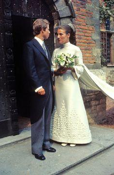 liechtensteinroyals:  Wedding of Prince Philipp of Liechtenstein and Isabelle de L'arbe de Malander, Brussels, September 11, 1971