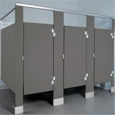 Image result for grey bathroom partitions