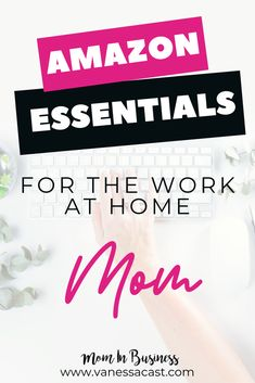 Must haves for work-at-home moms. The products on this list will help you reach your goals as a mompreneur and make your life easier Working Hard, Working Moms, Business Tips, Online Business, I Wish You Happiness, I Respect You, Amazon Essentials, Magnetic White Board, Dear Mom