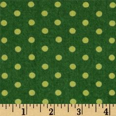 Designed by Deb Strain for Moda, this cotton print is perfect for quilting, apparel and home decor accents.  Colors include shades of green.