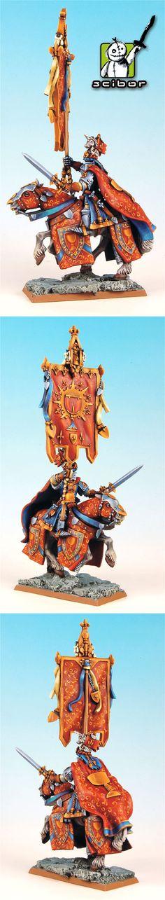Warhammer Fantasy Bretonnian Standard Bearer