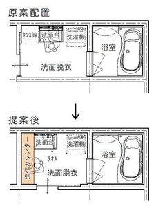 Japanese Bath, My House Plans, House Layouts, Washroom, Thing 1, Tiny House, Sweet Home, New Homes, Floor Plans