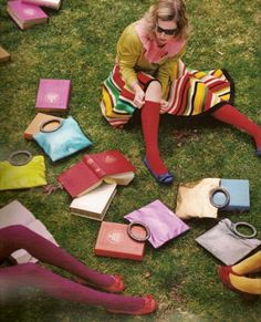 Knowledge (in handbags) can never be taken away from you ;)