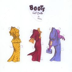 Boots Paper Doll