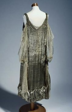 Tailor of Two Cities — fripperiesandfobs: Inaugural dress of Mrs. Angus...