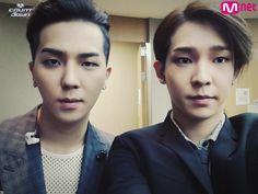 Minho and Taehyun