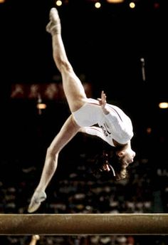 Nadia Comaneci became an international star during the 1976 Olympics in Montreal. Comaneci holds the distinction of being the first gymnast to earn a 10 in Olympic competition. Incredibly, Comaneci was only 14 years old when she captured her first gold medal.