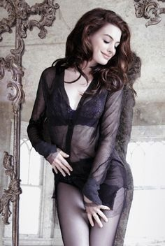 Anne Hathaway. Classy, talented, sexy, beautiful and ladylike...what's not to like about her?! :-)
