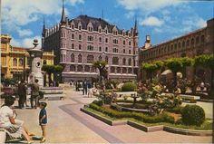 León, fotos antiguas, plaza de san Marcelo