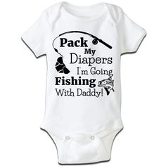 If you want to take you fishing buddy on your next trip, here's the perfect baby…