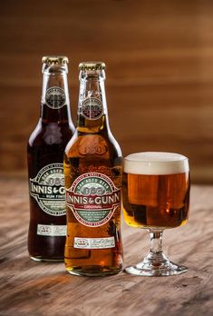 *The two most popular beers from Innis and Gunn Brewery. They both make my top 10 list. All Beer, Wine And Beer, Best Beer, Beer Brewing, Home Brewing, Whisky, Beers Of The World, Tequila, Beer Brands