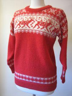 vintage ski sweaters