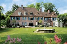 Old World elegance ca. 1929 in English-inspired mansion with 8 bedrooms  8.3 baths in 13,000 sq. ft. The Greenwich, Connecticut estate is offered at $25 million.
