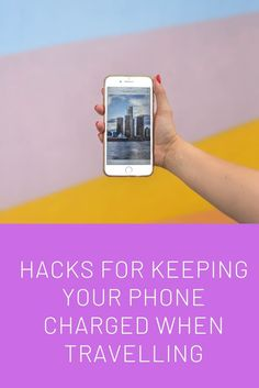 Hacks for keeping your phone charged when travelling Find Your Phone, Airplane Mode, You Are The World, Packing Tips, Go Camping, World Traveler, Travel With Kids, Travel Inspiration, Travelling