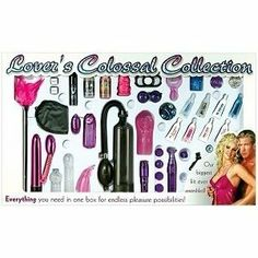 Bundle Lover's Colossal Collection and 2 pack of Pink Silicone Lubricant 3.3 oz by Pipedream Products. $84.22. Great Present. A Package for lovers. Bundle Everything you need in one box for endless pleasure possibilities. Feather Tickler, 6 inch vibe with vibrating egg, 2 silicone sleeves, blindfold, love dice, Club V pleasure spray, rabbit finger stimulator, vibrating egg, toy cleaner, Moist flavored lube, erection pump, cyber snatch, 3 inch nubby extention, erection e...
