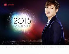 cool [Photo] Kim Hyun Joong – Lotte Duty Free January 2015 Calendar Wallpaper