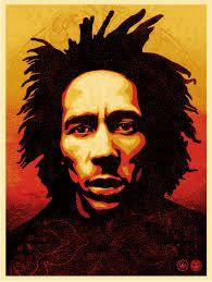Bob Marley Screen Print 18 x 24 inches 2014