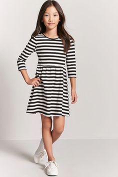 Girls Stripe Dress (Kids)
