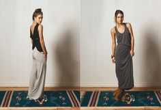 tally pant and dress