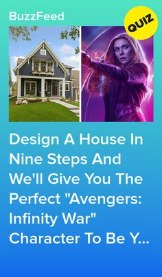 """Design A House And We´ll Give You The Perfect """"Avengers: Infinity War"""" Character To Be Your Roomie Quizzes Funny, Quizzes For Fun, Marvel Funny, Marvel Movies, Avengers Quiz, Best Buzzfeed Quizzes, Love Quiz, Ouat Characters, Quiz Design"""