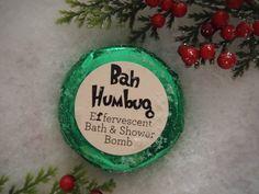 Holiday effervescent bath & shower bombs by fbombswearystuff