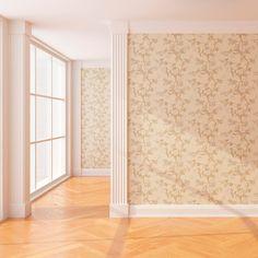 Papel de colgadura palido #papeldecolgadura # decoracion #walldecor Curtains, Room, Furniture, Home Decor, Renaissance, Paper Envelopes, Interiors, Houses, Bedroom
