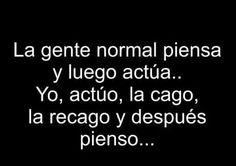 La gente normal.