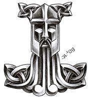 Viking Dragon And Thor Hammer Tattoos Thor Hammer Tattoo, Thor Tattoo, Shield Tattoo, Norse Mythology Tattoo, Norse Tattoo, Celtic Tattoos, Tatto Viking, Viking Tattoo Design, Viking Tattoos