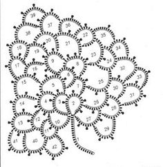 Вязание крючком Crochet Flower Tutorial, Form Crochet, Crochet Cross, Crochet Art, Crochet Motif, Hand Crochet, Crochet Leaves, Crochet Circles, Crochet Flowers