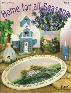 Home for all Seasons' Tole Painting Project Book @ http://www.bonanza.com/booths/elsieonthelake62