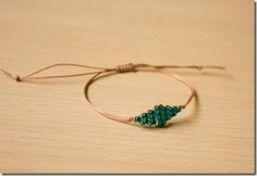 Delicate Beaded Hemp Bracelet | Always wanted to learn how to make hemp jewelry? You are going to love this super easy tutorial that you can conquer in no time!