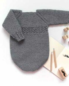 Knitting For Kids, Baby Knitting Patterns, Baby Patterns, Knitting Projects, Crochet Patterns, Crochet Baby, Knit Crochet, Crochet Pullover Pattern, Baby Barn