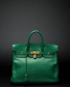 Chloe handbag in fab green.