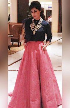 Chitrangada Singh a glamorous dress.
