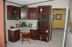 Shop New Mobile Homes Choose between new Multi-section Homes (Double Wide) or Single-section Homes (Single Wide). Palm Harbor Homes, Mobile Homes For Sale, Kingston, Pecan, Kitchen Cabinets, Table, Furniture, Parents, Home Decor