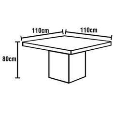 altura ideal para mesa de jantar - Pesquisa Google